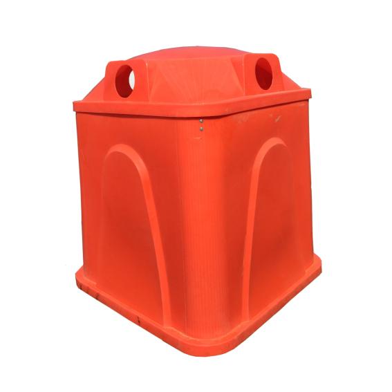 Campanas plasticas para recoleccion de basura Abati Titanium