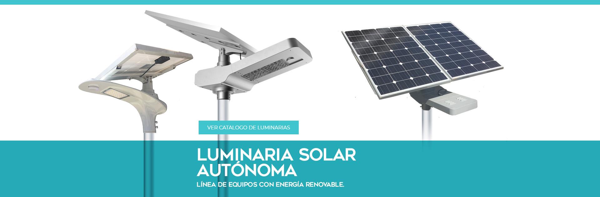 Luminaria Solar Autonoma