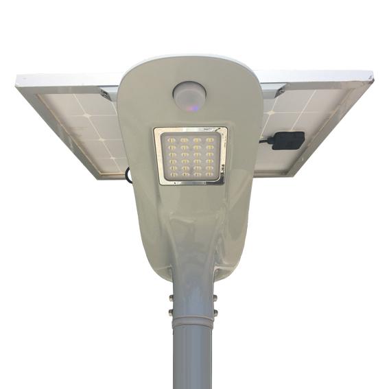 Luminaria solar autonoma Abati Titanium Argentina RS-FB80C-3