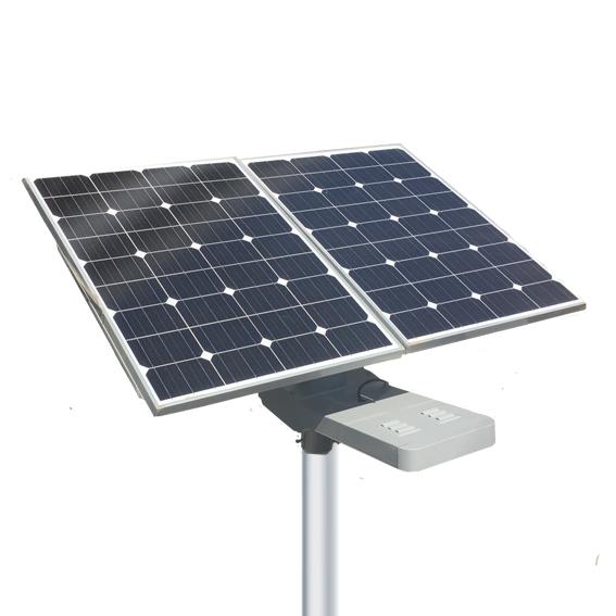 Luminaria solar autonoma Abati Titanium Argentina SC-NH200C