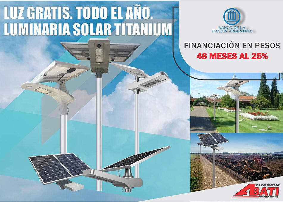 Luminaria Banco Nación