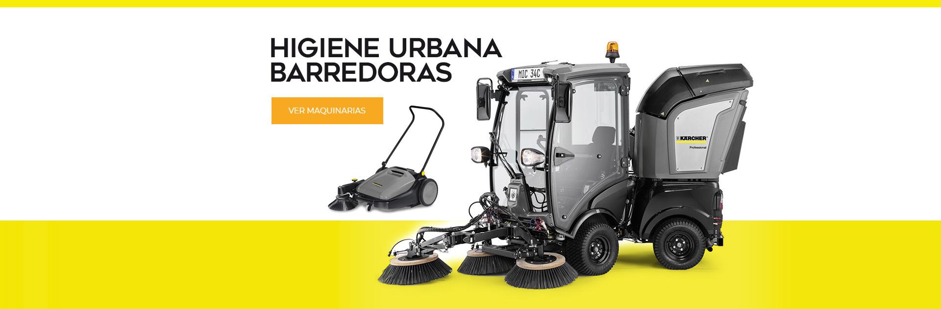 Higiene Urbana Linea de Barredoras de Basura para Ciudades