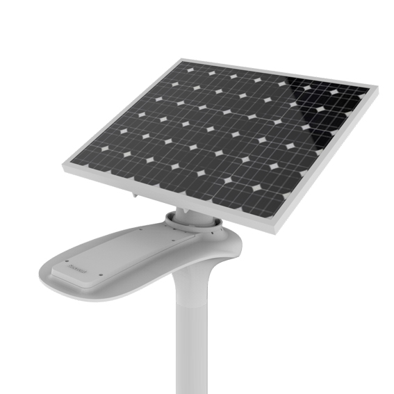 Luminaria solar autonoma Abati Titanium Argentina RS-FB80C-2