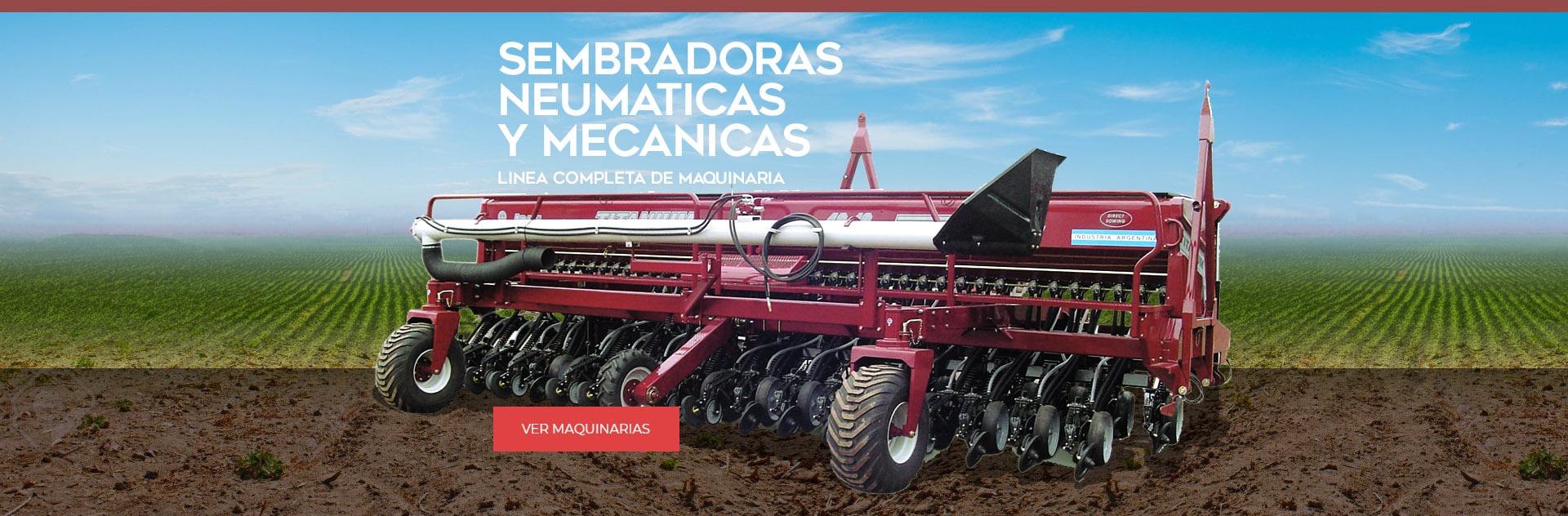 Sembradoras Neumaticas Mecanicas Abati Titanium Argentina Maquinaria Agricola